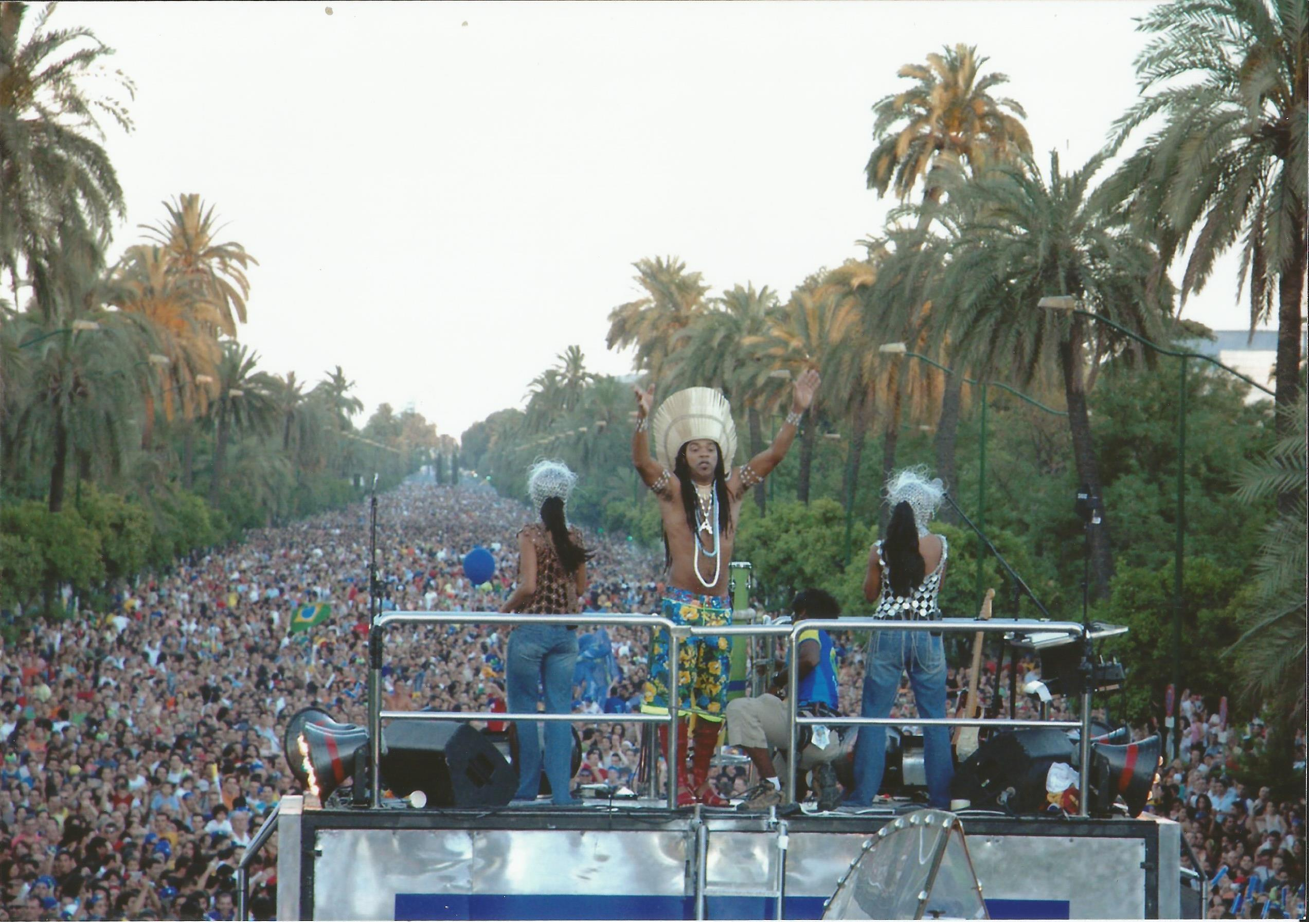 2005 Carlinhos Brown – Sevilla – 2005