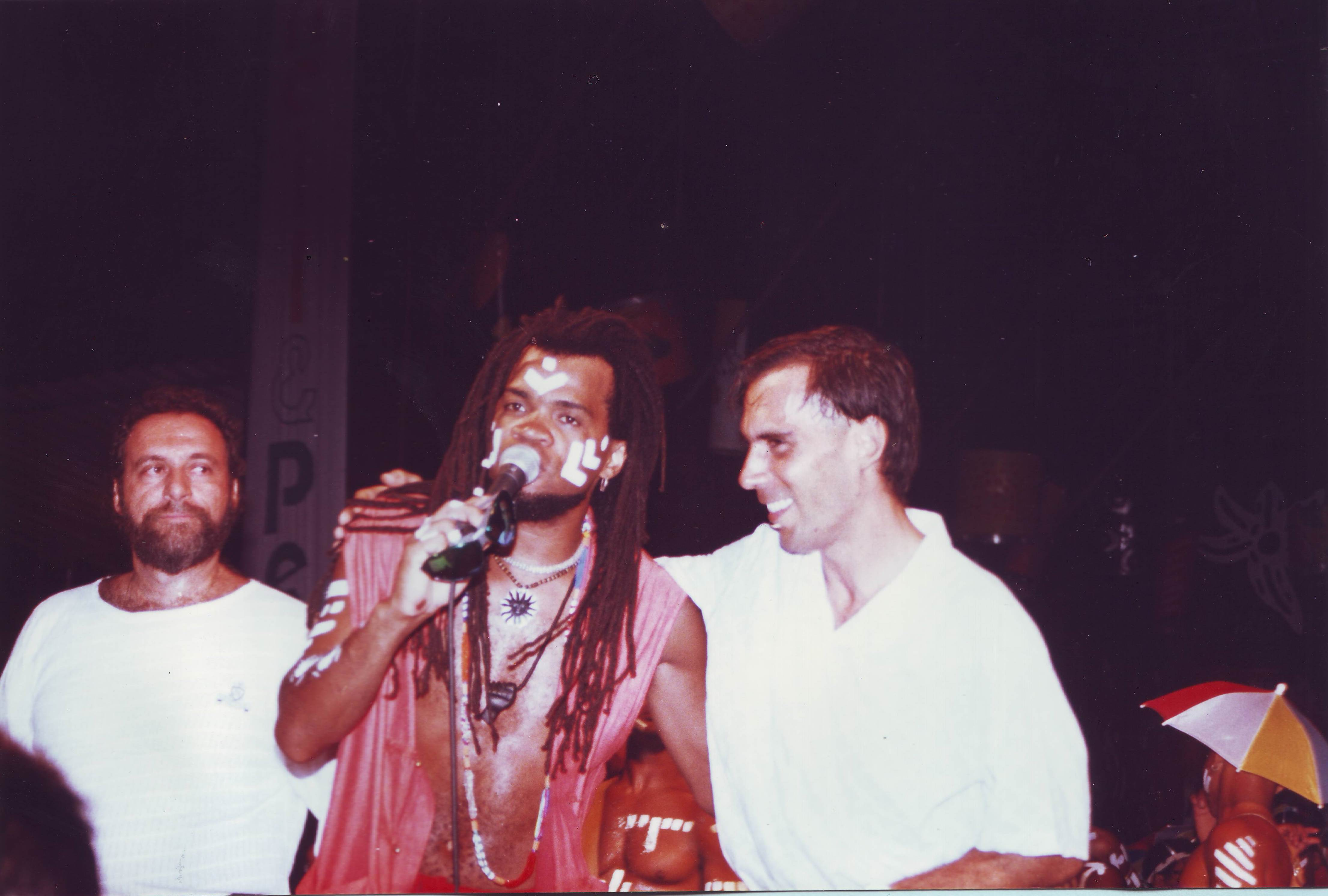 Carlinhos Brown e Arnaldo Antunes