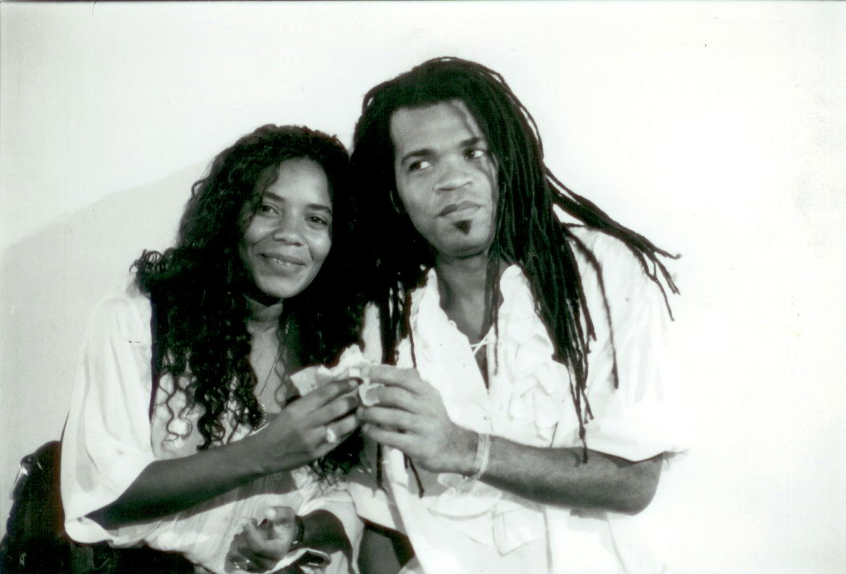 Carlinhos Brown e Margareth Menezes
