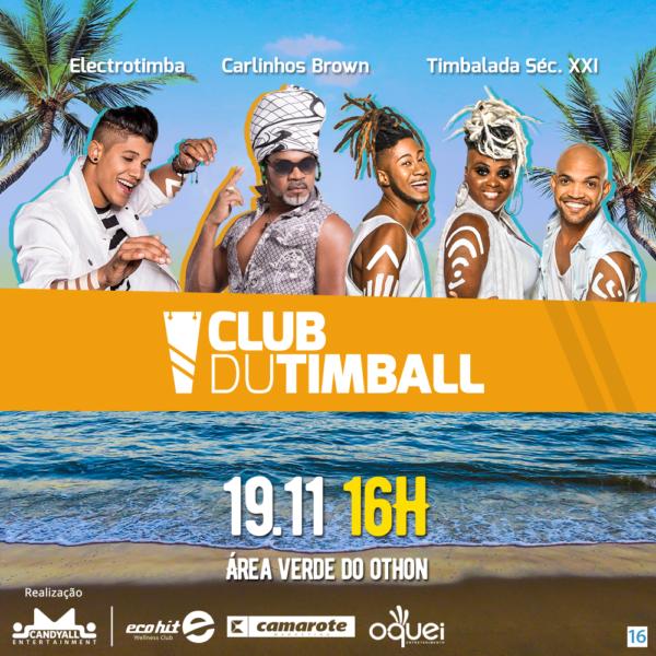 Club du Timball lança experiências para associados nesse domingo (19)