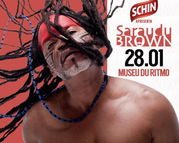 Sarau du Brown recebe AnaVitória no próximo domingo, 28, no Museu du Ritmo