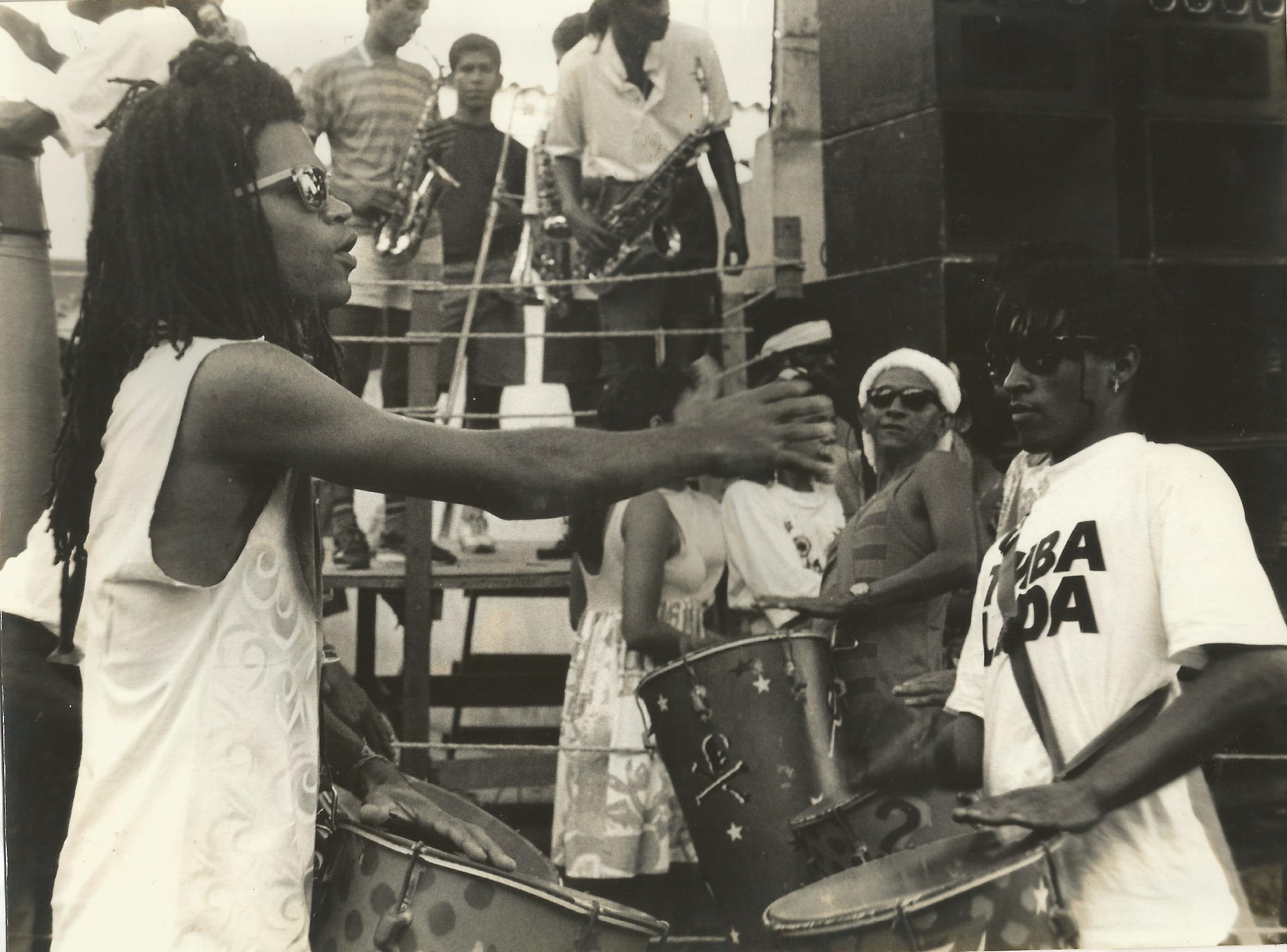 1991 – Fundaçao da Timbalada – Carlinhos Brown – Ensaio da Timbalada – Candeal