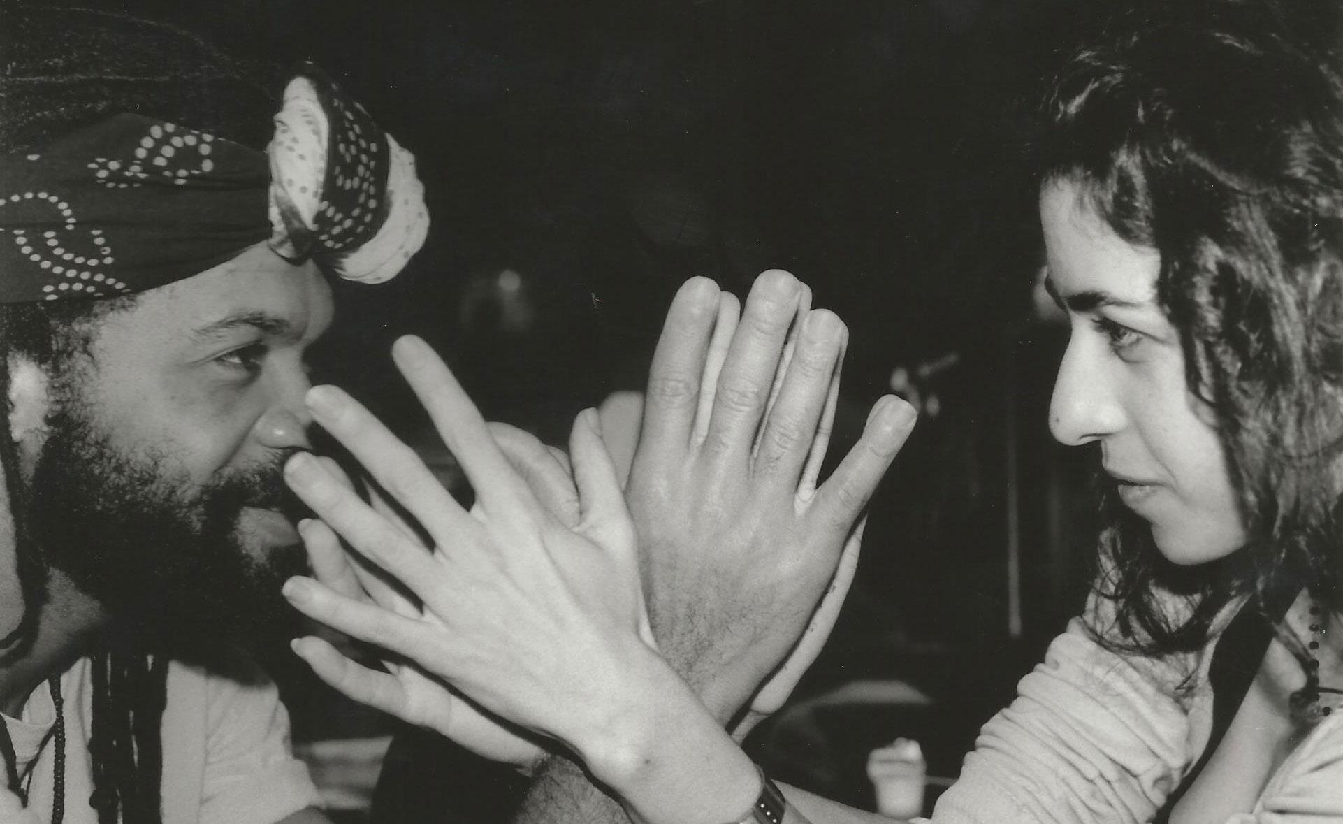 1998 Carlinhos Brown e Marisa Monte gravacao Omelete Man 2
