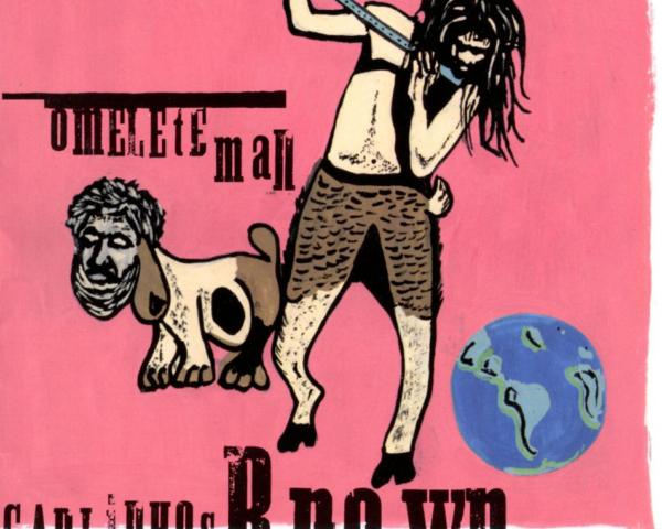 """Carlinhos Brown relança o álbum """"Omelete Man"""""""
